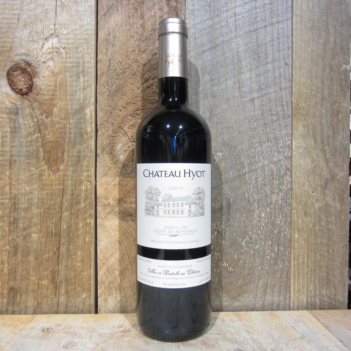 Chateau Hyot Cotes de Castillon Bordeaux 2018 750ml