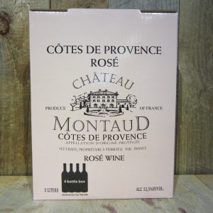 CHATEAU MONTAUD COTES DE PROVENCE ROSE 2018 3L BOX