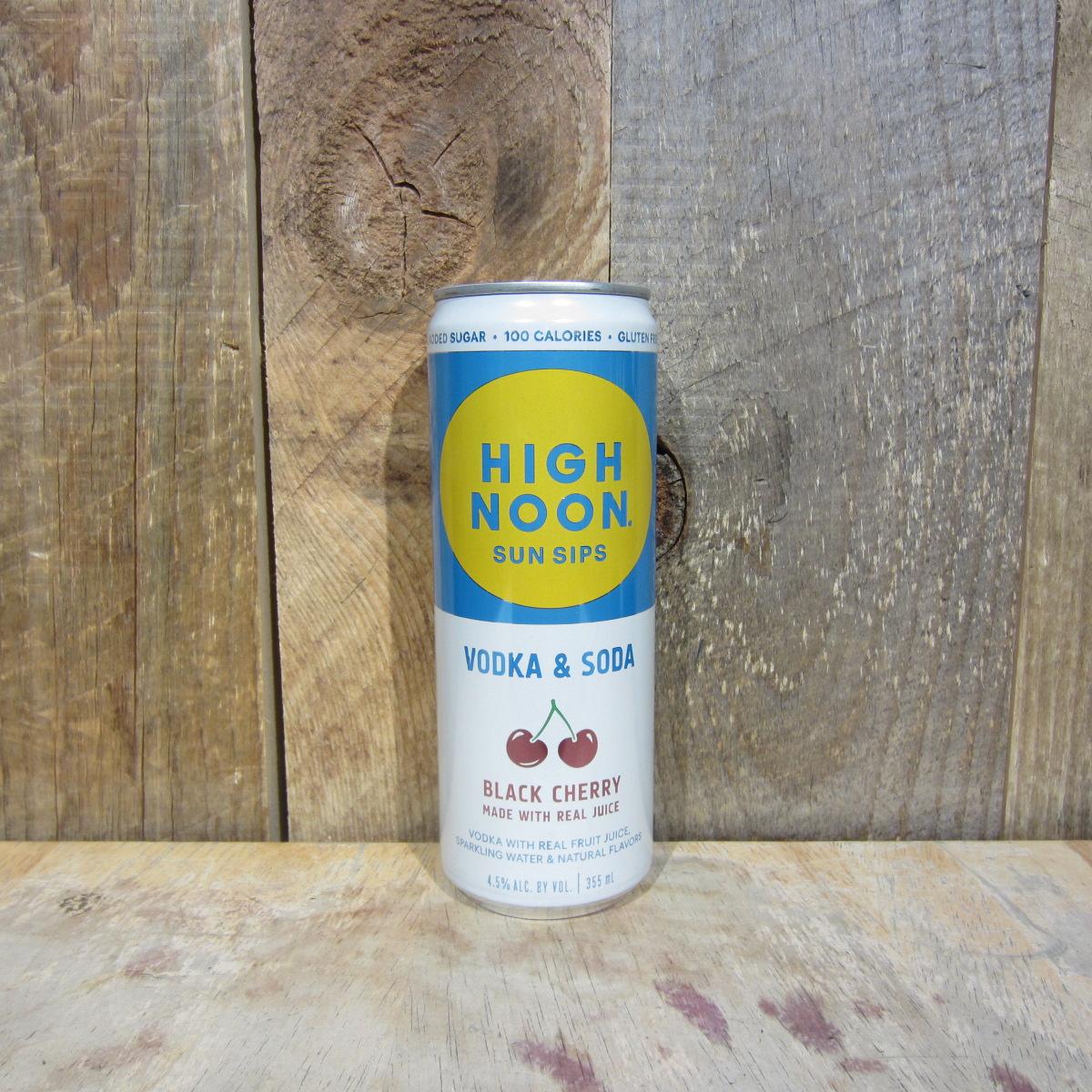 High Noon Vodka and Soda Black Cherry (Single Can) 355ml
