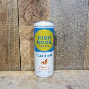 High Noon Vodka and Soda Grapefruit (Single Can) 355ml