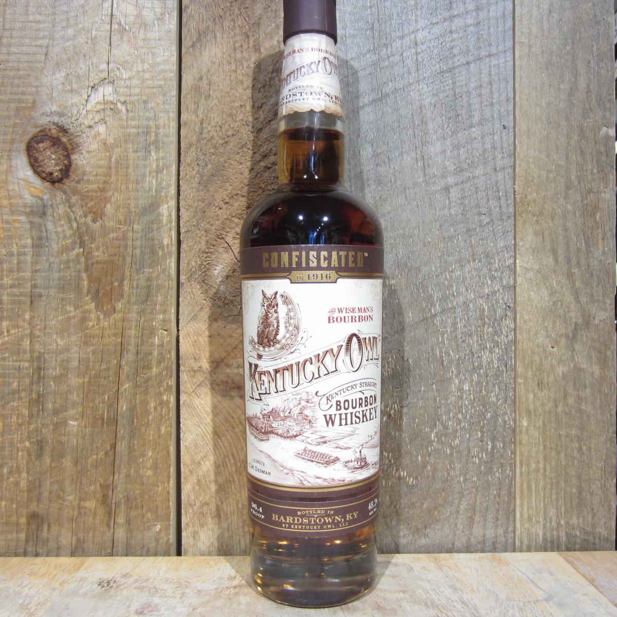 Kentucky Owl Confiscated Bourbon 750ml