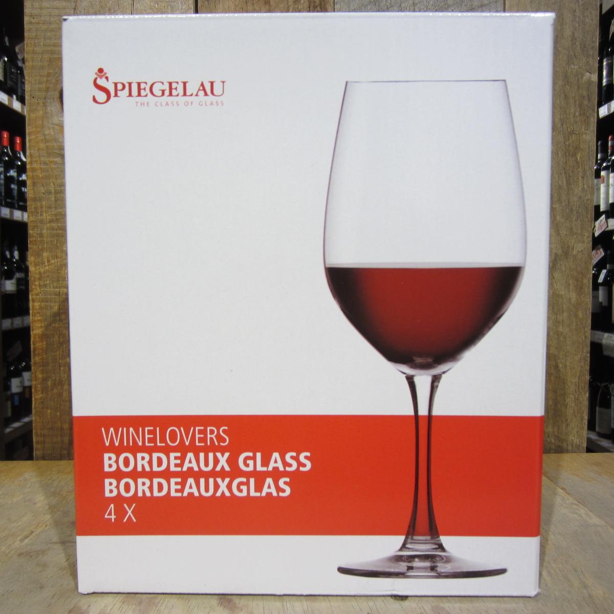 Spiegelau Wine 4 Glass Set