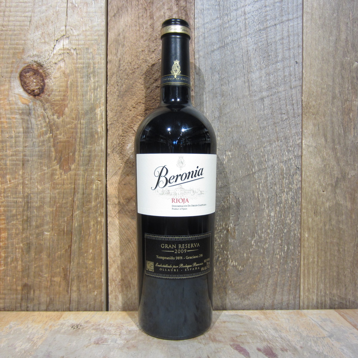 Beronia Rioja Gran Reserva 2010 750ml