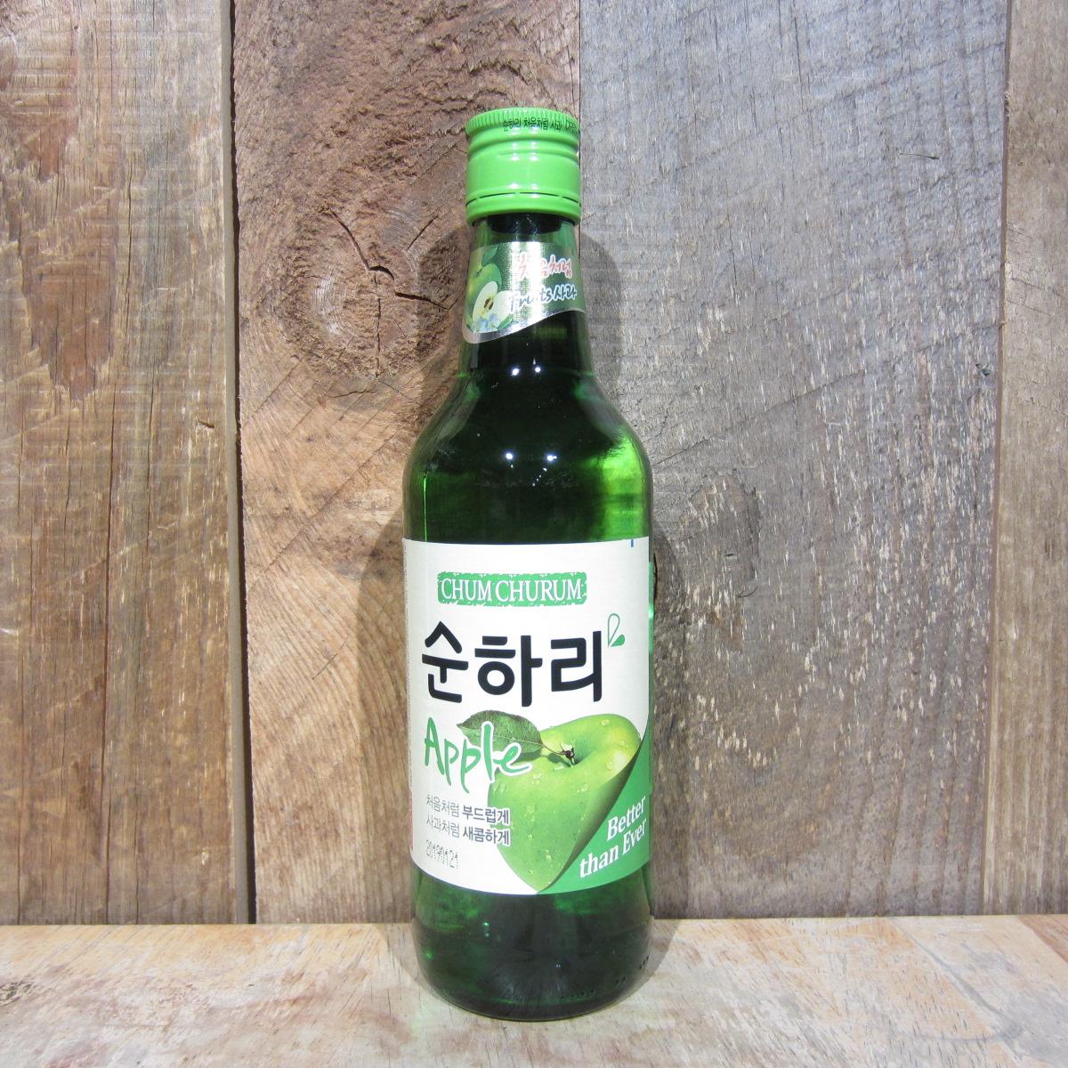 Chum Churum Soon Hari Apple Soju 375ml