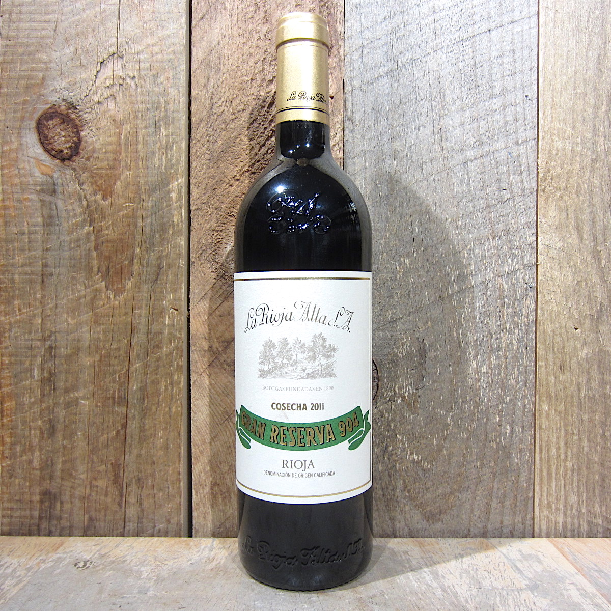 La Rioja Alta Gran Reserva 904 2011 750ml