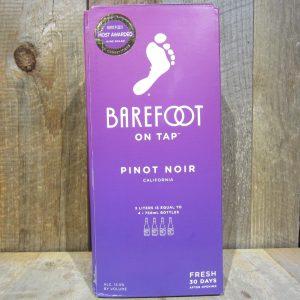 BAREFOOT PINOT NOIR BOX WINE 3L