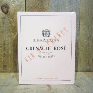 Les Allies Grenache Rose 3L Box
