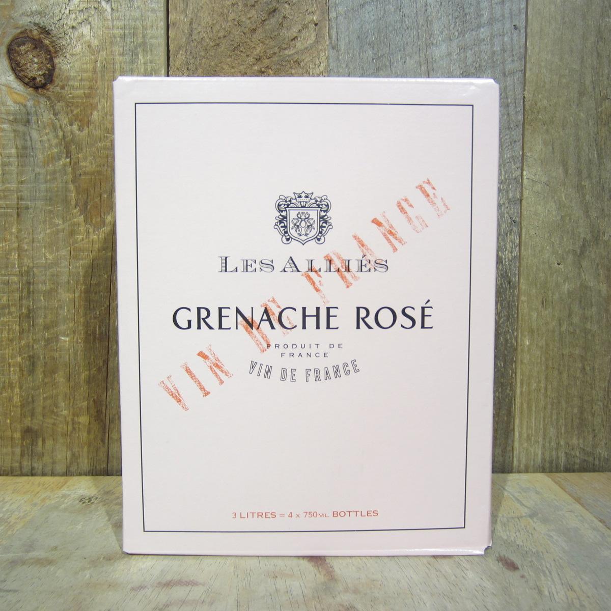 Les Allies Grenache Rose Box 3L