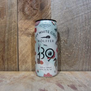 WOLFFER DRY WHITE CIDER (CANS) 295ML