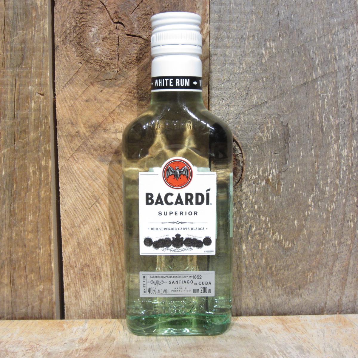 Bacardi Superior 200ml (Half Pint)