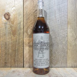 MIC DROP 4 YEAR BARREL PROOF BOURBON 750ML