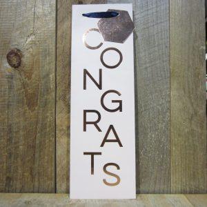 Congrats Wine Bag