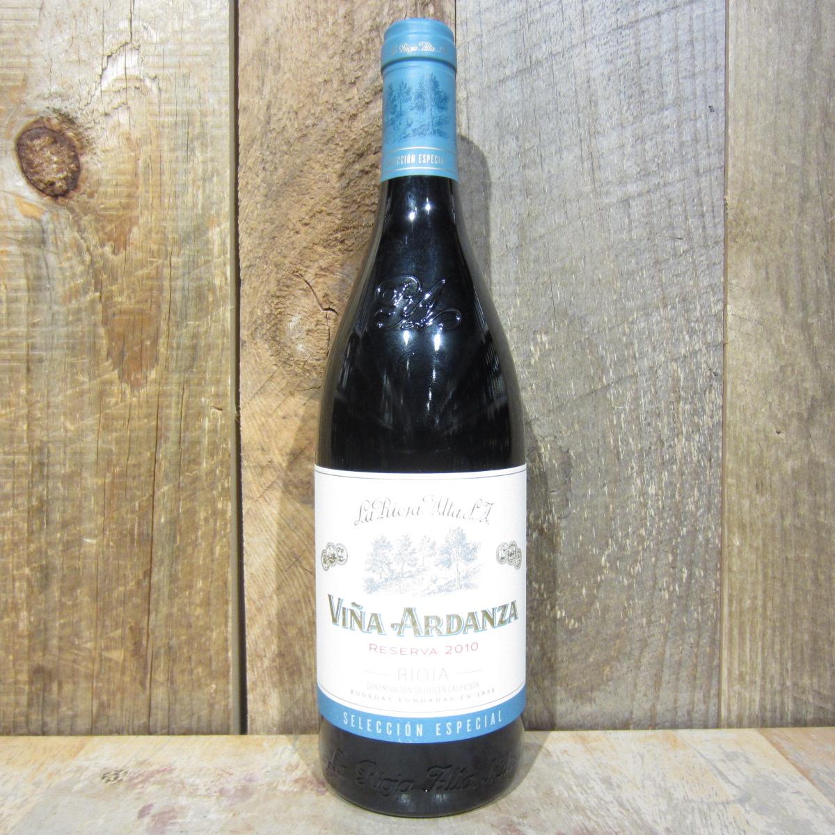 La Rioja Alta Rioja Vina Ardanza Reserva Seleccion Especial 2010 750ml