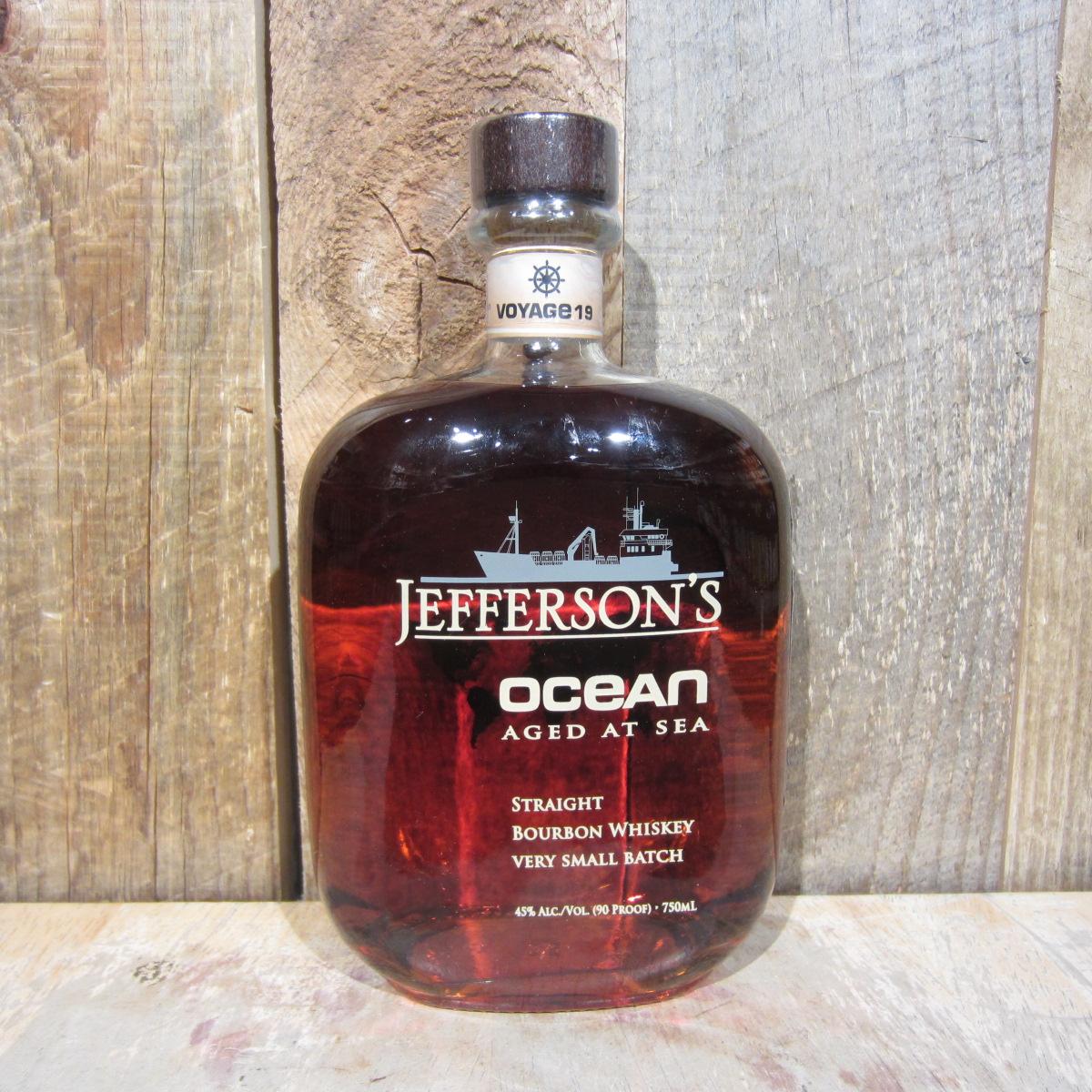 Jeffersons Bourbon Ocean Aged At Sea Voyage 20 750ml