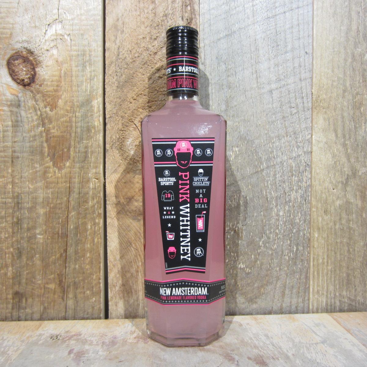 New Amsterdam Pink Whitney Vodka 750ml