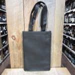 2 BOTTLE BLACK WINE TOTE BAG