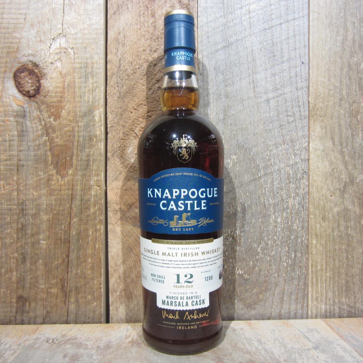 Knappogue Castle 12 Year Old Marsala Cask Irish Whiskey 750ml