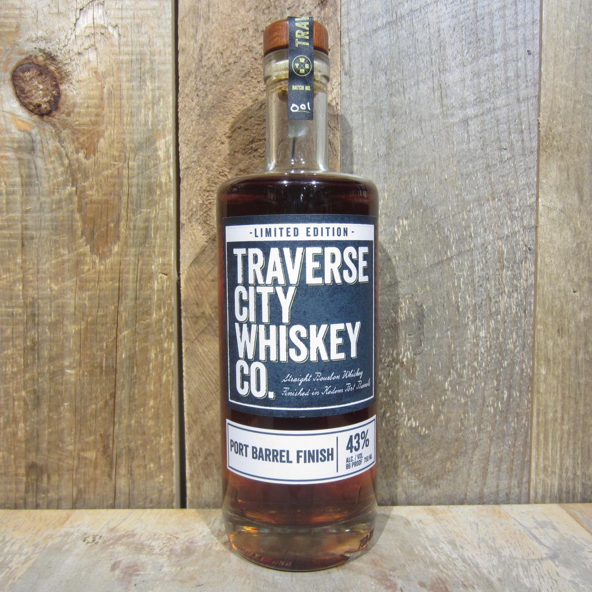 Traverse City Port Barrel Finish Bourbon Whiskey 750ml