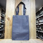 4 BOTTLE BLUE WINE TOTE BAG