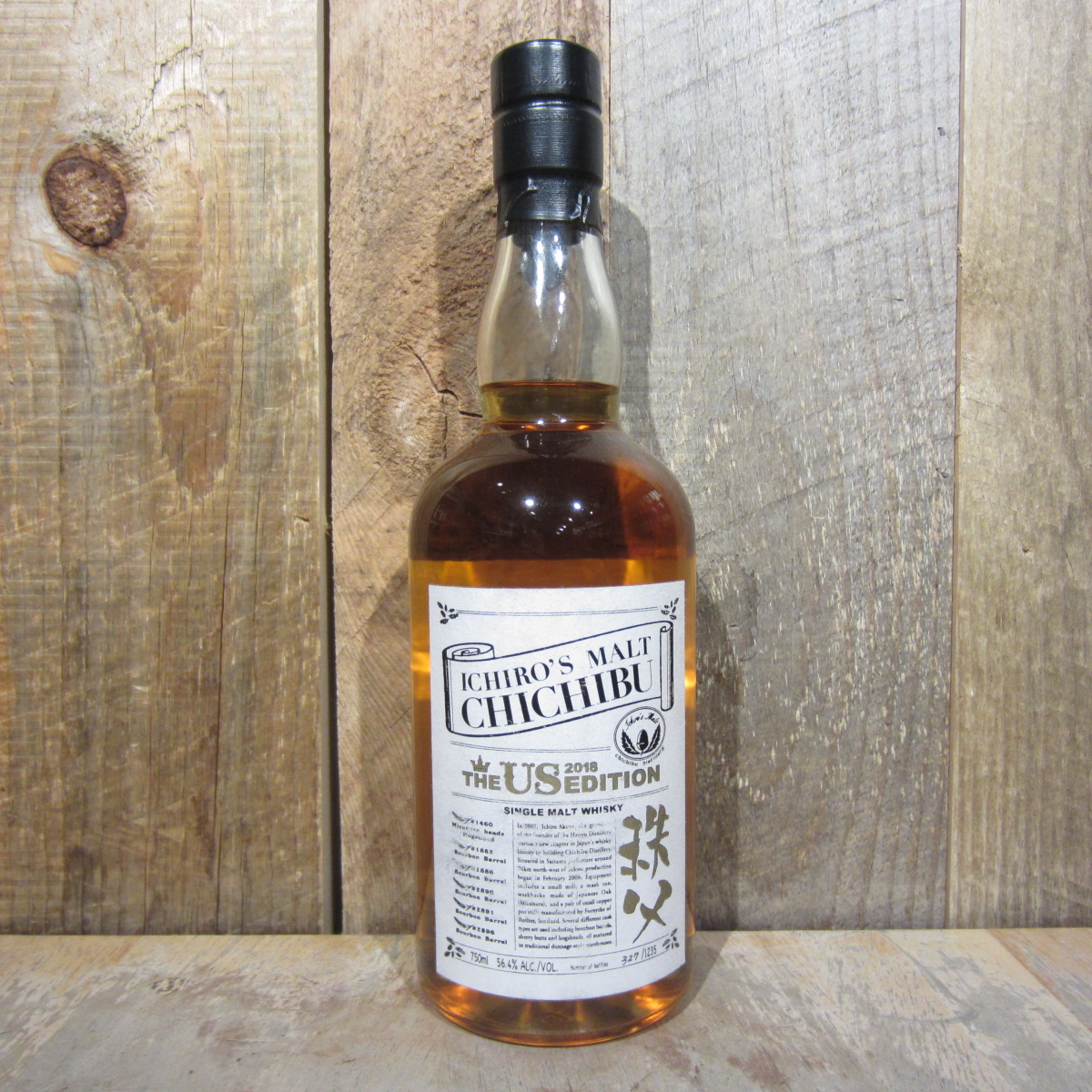 Chichibu Ichiros Malt Us 2018 Edition Whiskey Single Malt 750ml
