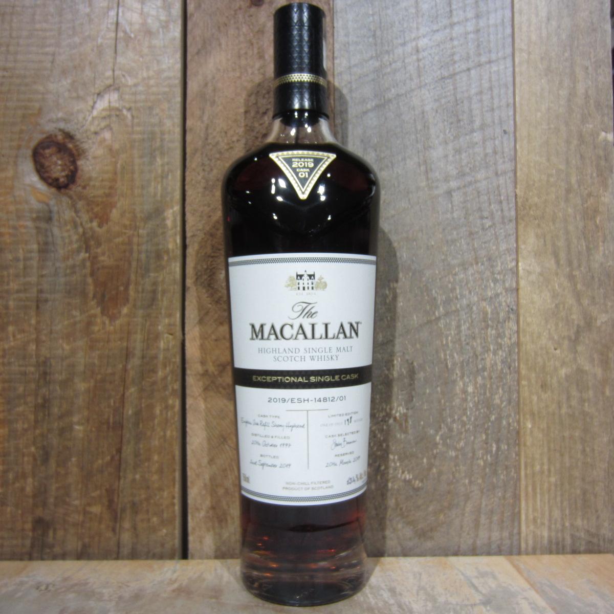 Macallan Exceptional Single Cask 14812 106.8pf 750ml