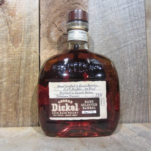GEORGE DICKEL HAND SELECT BARREL 9YR 103 PROOF 750ML
