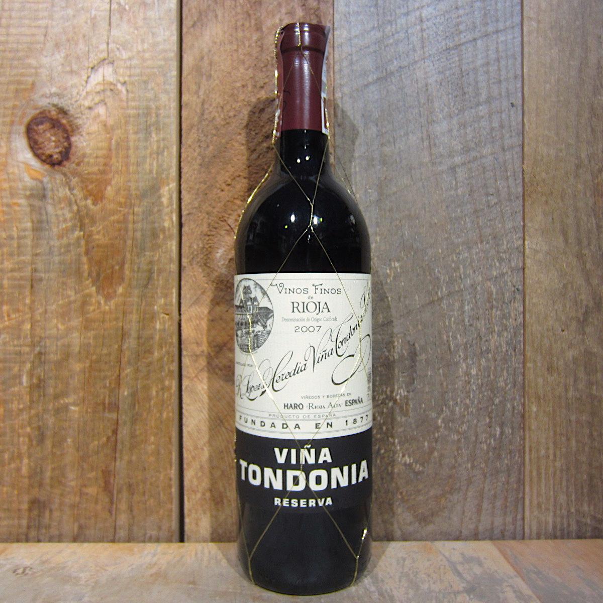 Lopez de Heredia Vina Tondonia Reserva Rioja 2008 750ml