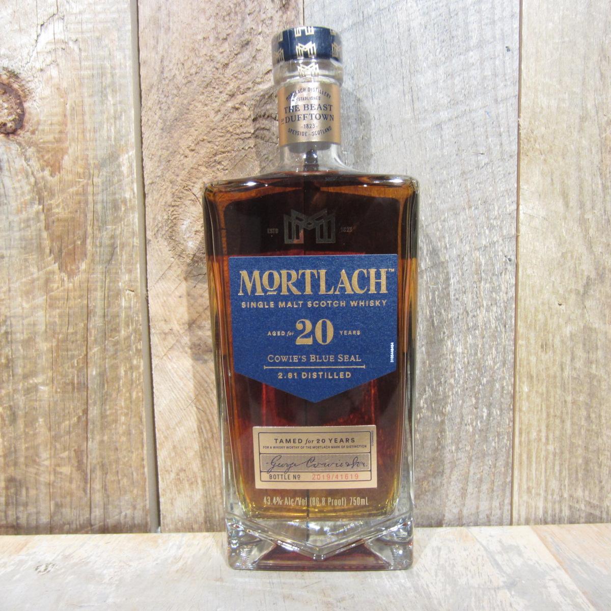 Mortlach Speyside 20 Year Single Malt Scotch 750ml