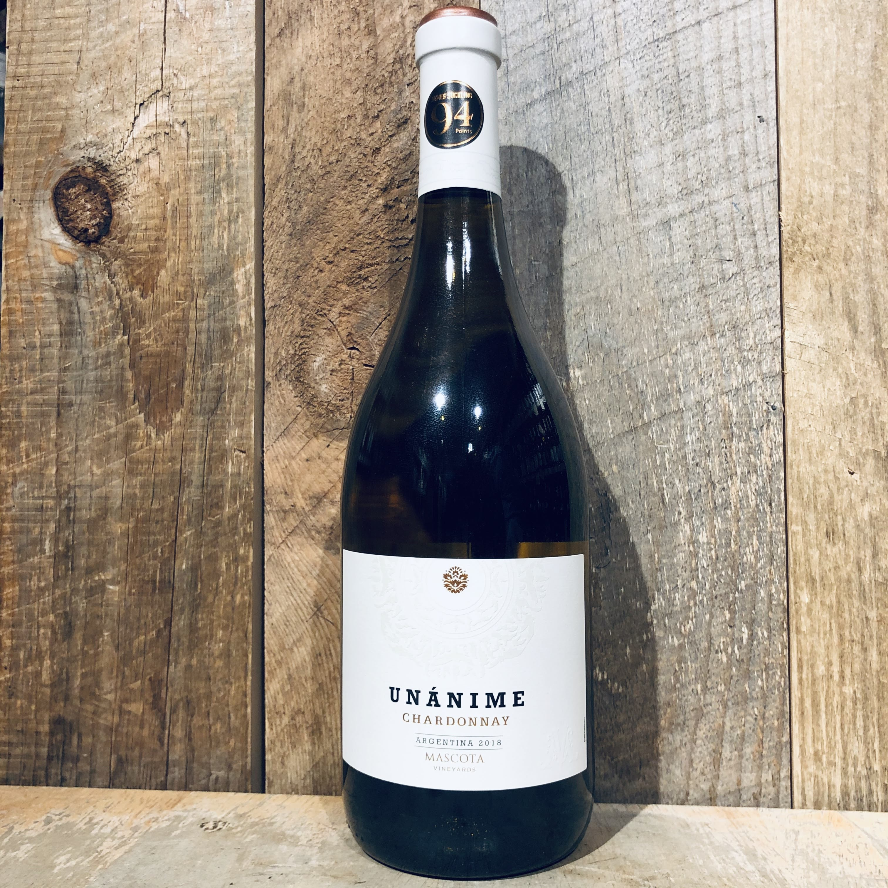 Mascota Vineyards Unanime Chardonnay 750ml