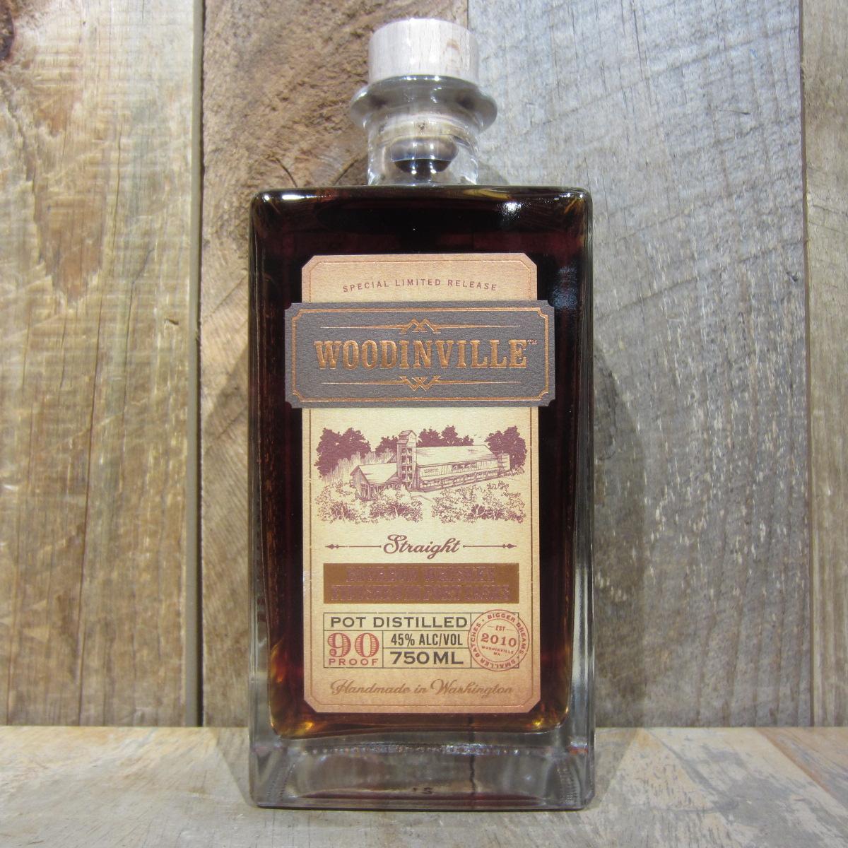 Woodinville Port Finished Bourbon 750ml