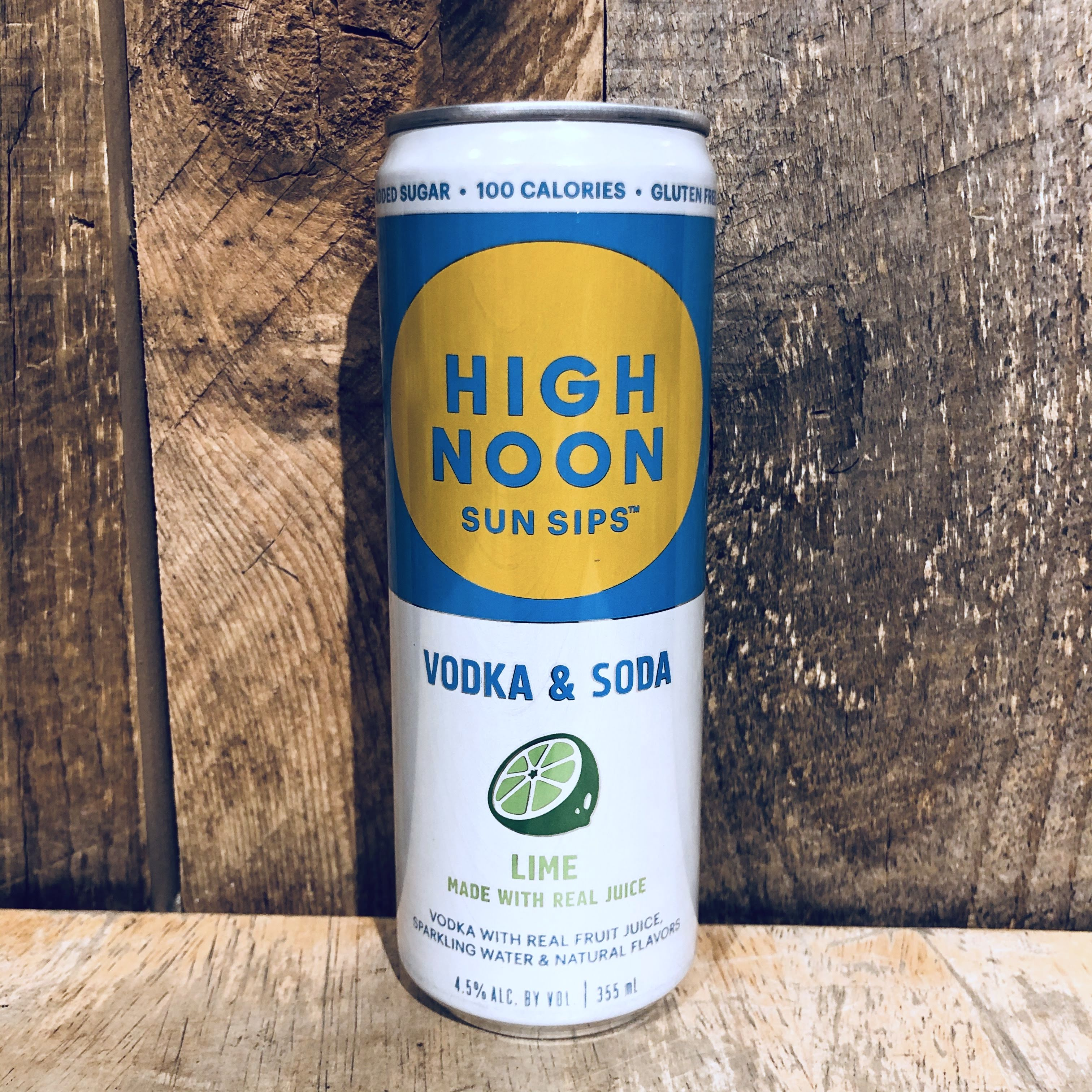 High Noon Vodka and Soda Lime (Single Can) 355ml