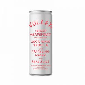 Volley Spiked Tequila Seltzer Grapefruit 355ml (Single Can)