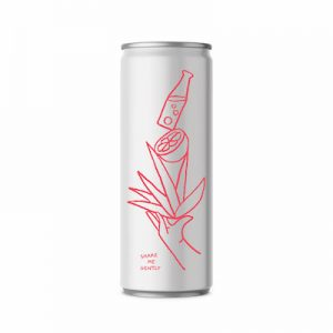 Volley Spiked Tequila Seltzer Grapefruit (4-Pack)
