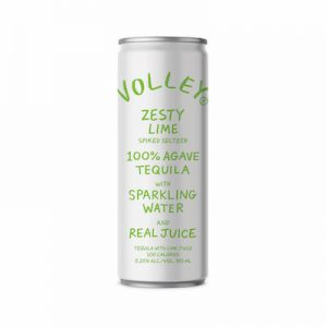 Volley Spiked Tequila Seltzer Lime (4-Pack)