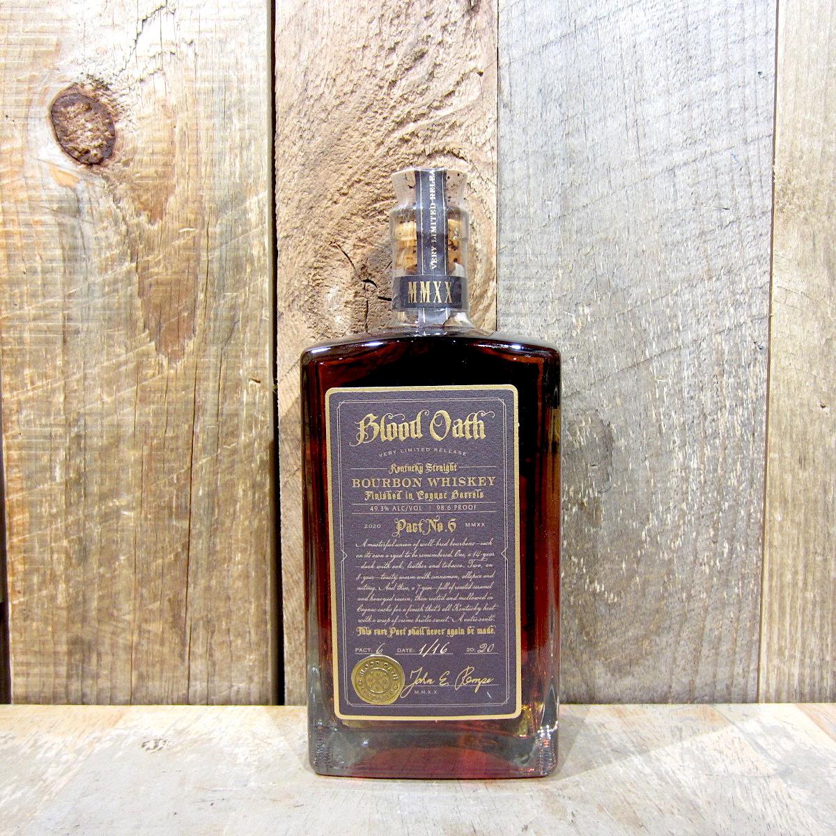Blood Oath Bourbon Pact No. 6 750ml