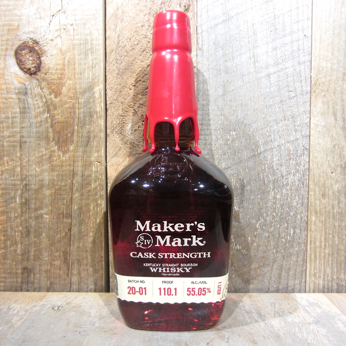 Makers Mark Cask Strength Bourbon 1L