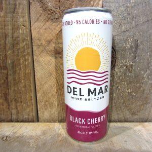 DEL MAR BLACK CHERRY WINE SELTZER (CAN) 355ML