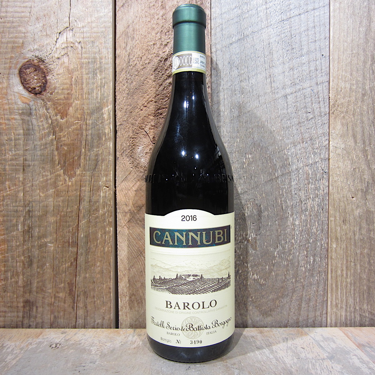 Serio e Battista Borgogno Cannubi Barolo 2016 750ml