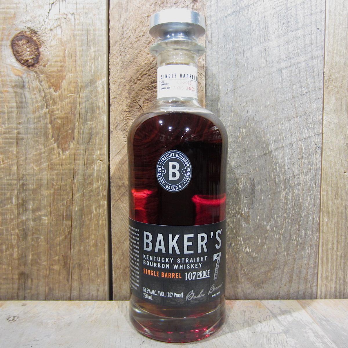 Bakers Single Barrel 7 Year Bourbon 750ml
