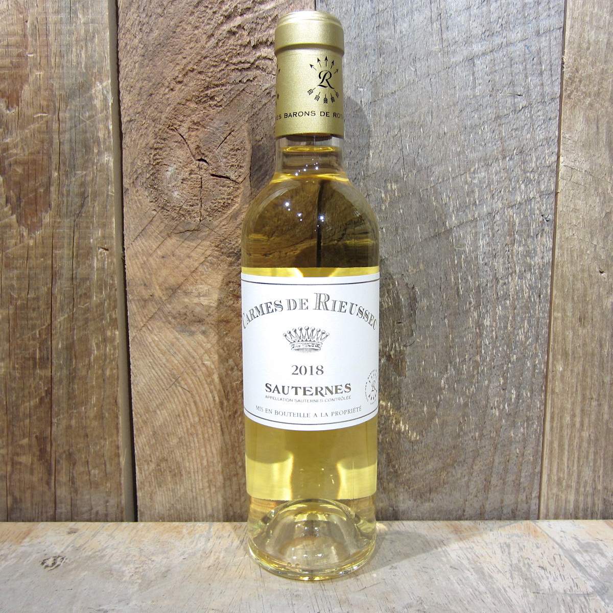 Carmes de Rieussec Sauternes 2018 375ml (Half Size Btl)