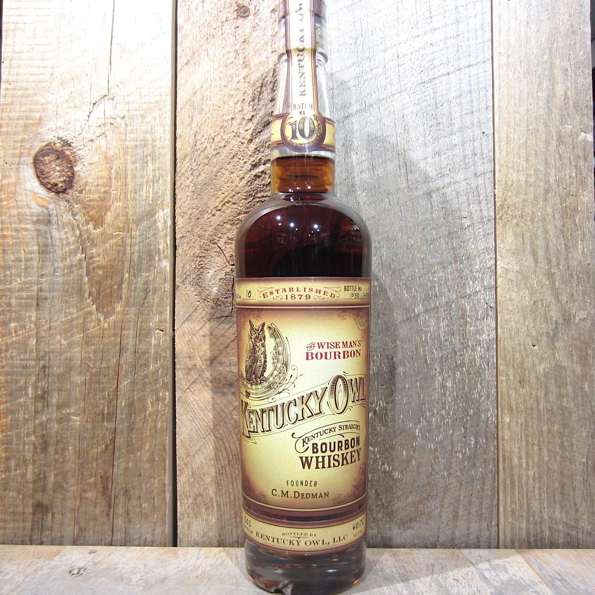 Kentucky Owl Bourbon 120.2pf Batch 10 750ml