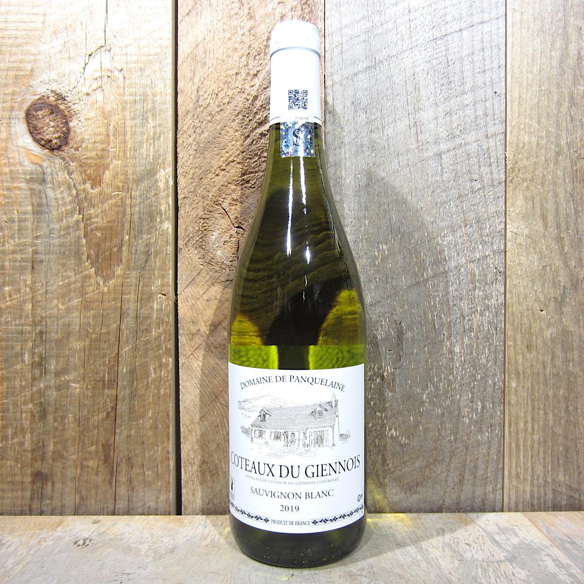 Panquelaine Coteaux du Giennois Sauvignon Blanc 2019 (Kosher) 750ml