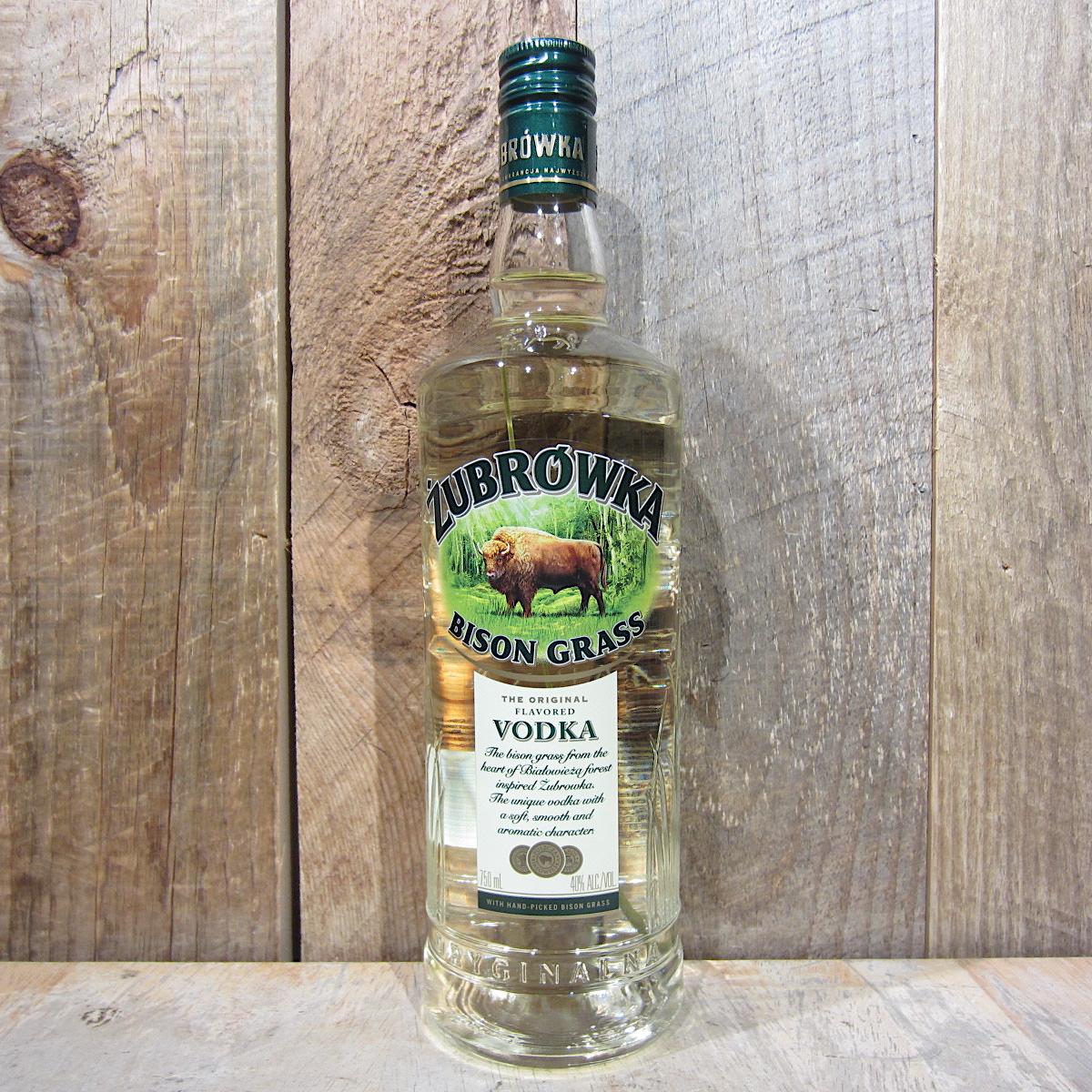 Zubrowka Bison Grass Vodka 750ml