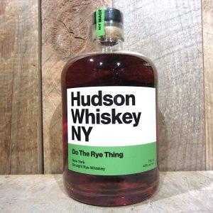 HUDSON DO THE RYE THING STRAIGHT RYE 750ML