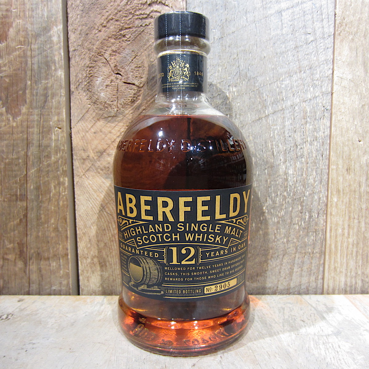 Aberfeldy 12 Year Scotch Whiskey 750ml