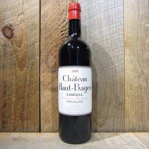 Chateau Haut-Bages Liberal Pauillac Grand Cru 2018 750ml