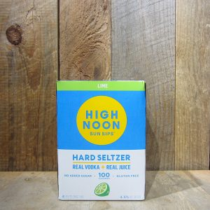 High Noon Vodka and Soda Lime (4-Pack)
