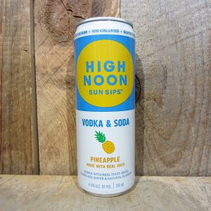 High Noon Vodka and Soda Pineapple (Single Can) 355ml