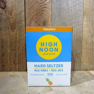High Noon Vodka and Soda Pineapple (4-Pack)