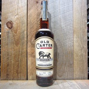 Old Carter Straight Bourbon Whiskey Small Batch No. 9 750ml